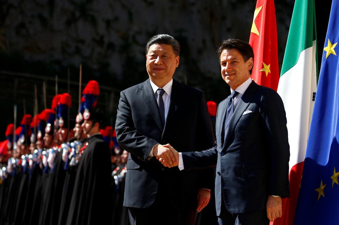 Xi Jinping we Włoszech
