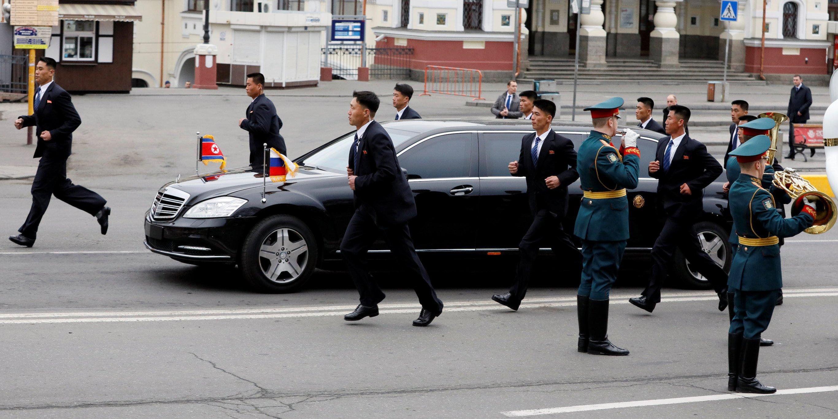 Kim Dzong Un limuzyna